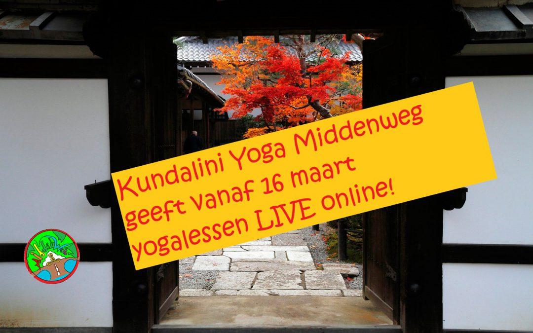 Kundalini Yoga Middenweg – live online yogalessen!